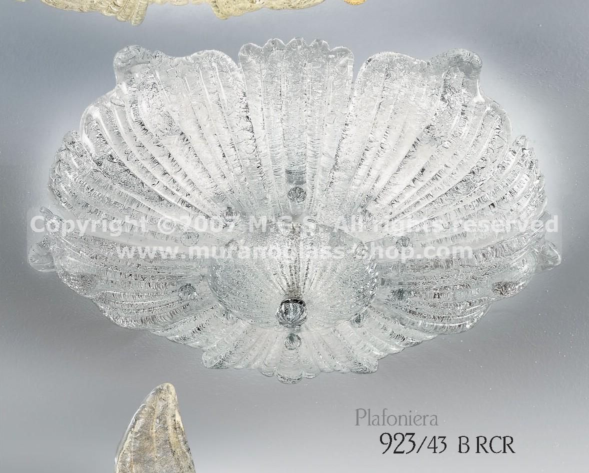 Plafoniere Cristallo : Plafoniere serie 923 murano glass shop